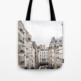 Montmartre View of Paris  Tote Bag