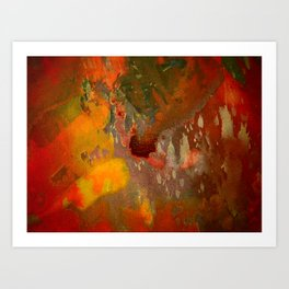 Splashes in Harmony Art Print