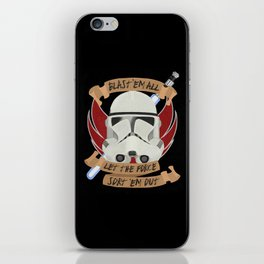 Clone War Propaganda iPhone Skin