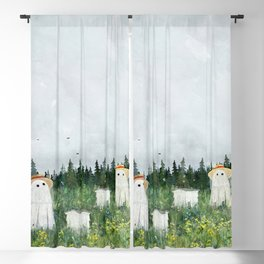 There's Ghosts By The Apiary Again... Blackout Curtain