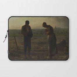 The Angelus by Millet Laptop Sleeve