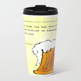 Being Friends with You Travel Mug