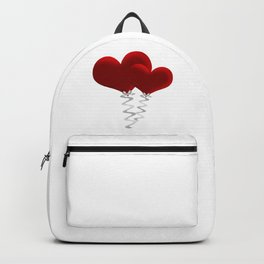 Valentine love hearts Backpack