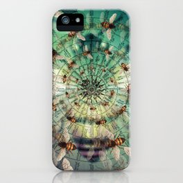 Bees: Masters of Time and Space iPhone Case