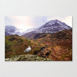 Mount Snowdon, Wales. Canvas Print