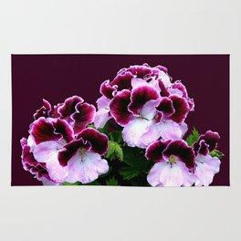 Pink, Purple, Flower Power Rug