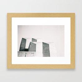 Golden Gate Architecture Framed Art Print