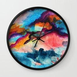 Unexpected Blends Wall Clock