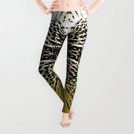 Shield of Gold Palms Leggings