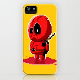 8 bit Merc with a Mouth iPhone Case