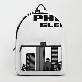 Phoenix Glendale Arizona Skyline Backpack