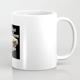 Old Man loves Drag Racing Coffee Mug