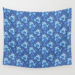 fleur de otachi - dark Wall Tapestry