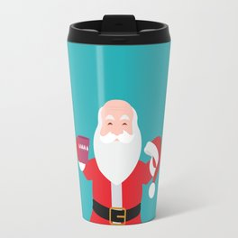 Have a A delightful cup of Christmas with Santa Claus Travel Mug