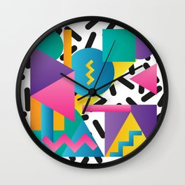 Shapes & Colours Wall Clock