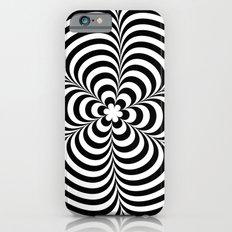 Modern Black & White Geometric Optical Illusion Slim Case iPhone 6s