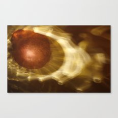 Abstract light reflections Canvas Print
