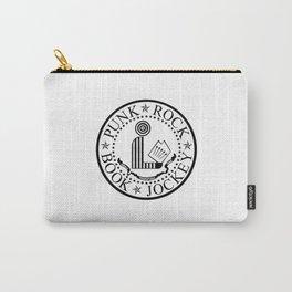 Punk Rock Book Jockey White Logo Carry-All Pouch