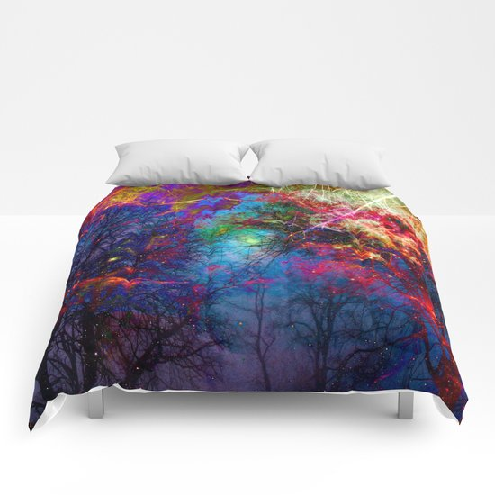 Colorful fiber  Comforters