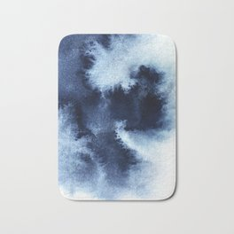 Indigo Nebula Bath Mat
