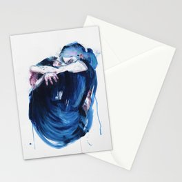the noise of the sea Stationery Cards