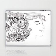 Robot Girl Laptop & iPad Skin