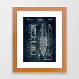 1948 - Surfboard Framed Art Print