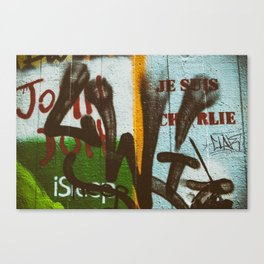 Il était Charlie {he was Charlie} Canvas Print