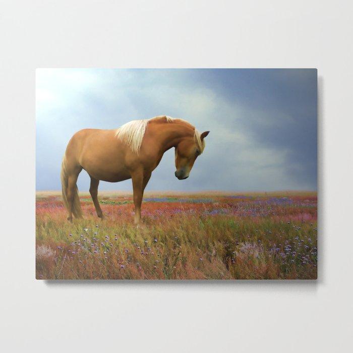 Painted Pastures Metal Print