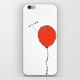 Awkward Balloon iPhone Skin