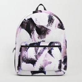 soft colored brush strokes Backpack