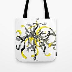 Swirling Ribbons Tote Bag