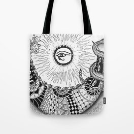 Mythical Luna Tote Bag