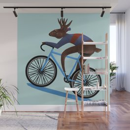 'Tis the season to be cycling Wall Mural