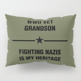 WWII Grandson Heritage Pillow Sham