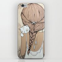 murray iPhone & iPod Skins featuring Stay Close by Kelli Murray