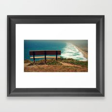 What a view!  Framed Art Print