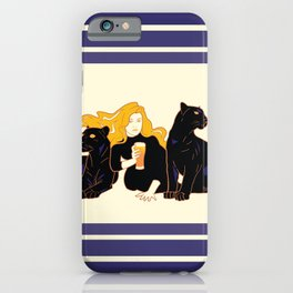 Panther Brews iPhone Case