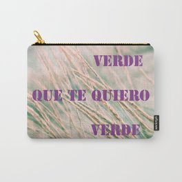 Verde (Green) Carry-All Pouch