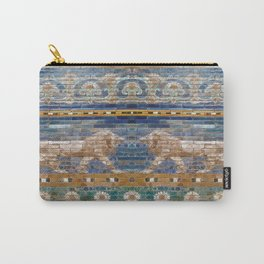 Lion Mosaic  Carry-All Pouch