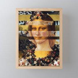 Leonardo Da Vinci'sMona Lisa & Botticelli's Venus Framed Mini Art Print