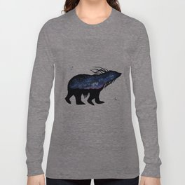 Milky Way Bear Long Sleeve T-shirt