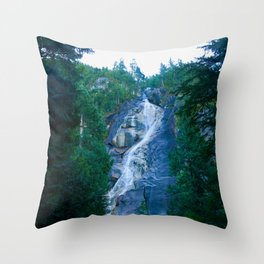 shannon falls, 2017 Throw Pillow