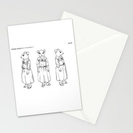 Character design for Eun Ae Stationery Cards