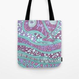Wandering 03: color variation 3 Tote Bag