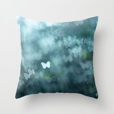 Flutter By Me Throw Pillow