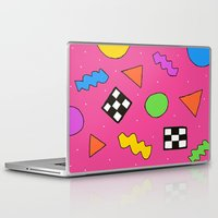 80s Laptop & iPad Skins featuring 80s Print by The POP Factory