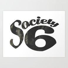 Society 6 Wheel T - S6 Tee Art Print