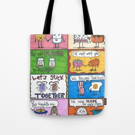 Kitchen Romances  Tote Bag