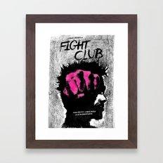 Tyler Durden Framed Art Print